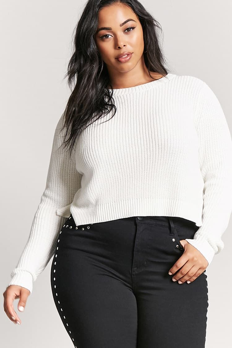 Product Nameplus Size Chunky Knit Sweater Categoryplussize Best