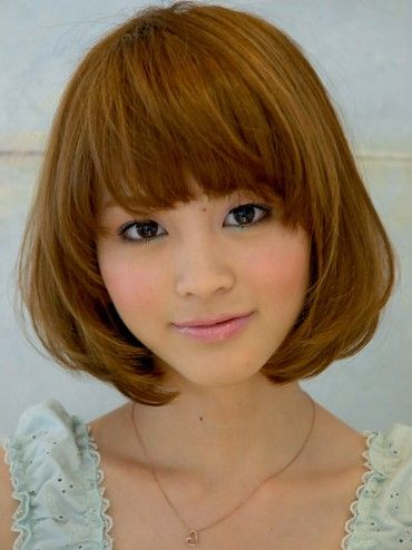 Japanese Bob Hairstyle For Summer Cute Hairstyles Pinterest