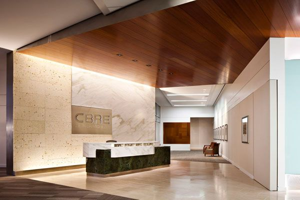 N The Entry Reception Zone Elevator Doors Showcase The