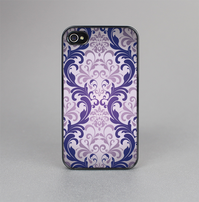 The Royal Purple Laced Wallpaper Skin-Sert for the Apple iPhone 4-4s Skin-Sert Case