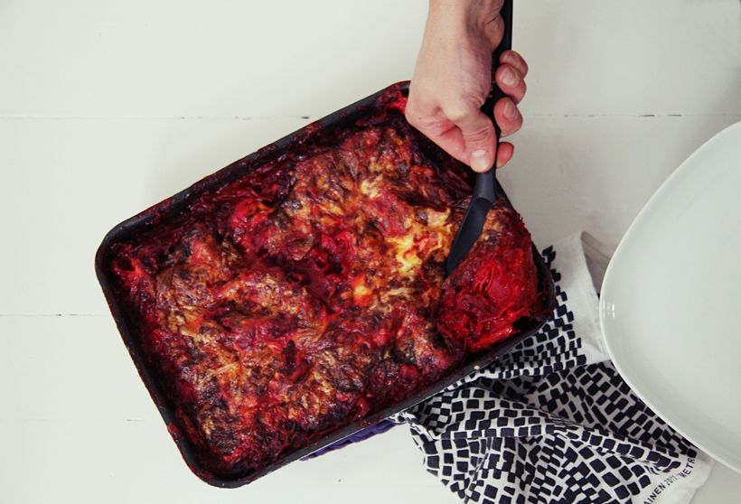 | BEETROOT LASAGNE | MAIJU SAW