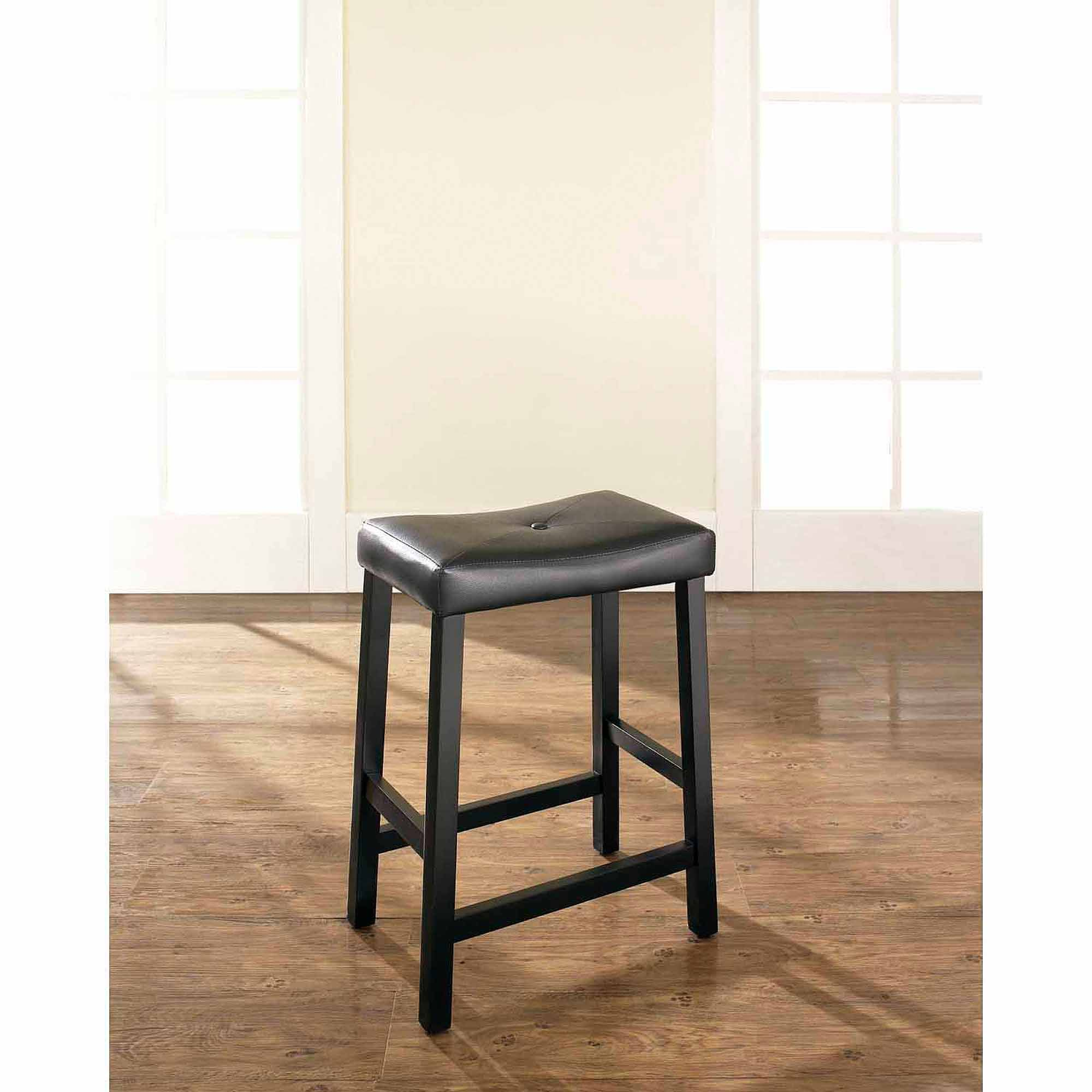 The Crosley Furniture Upholstered Bar Stool That Comes With A
