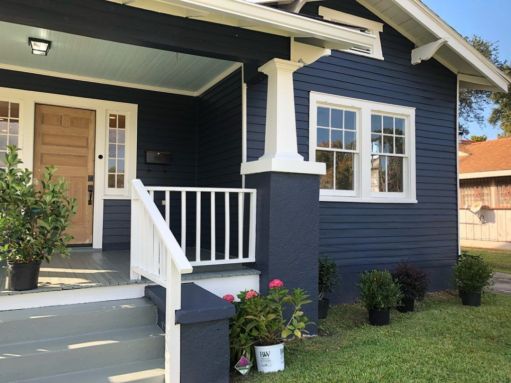 benjamin moore hale navy paint color ideas exterior on exterior home paint ideas pictures id=71279
