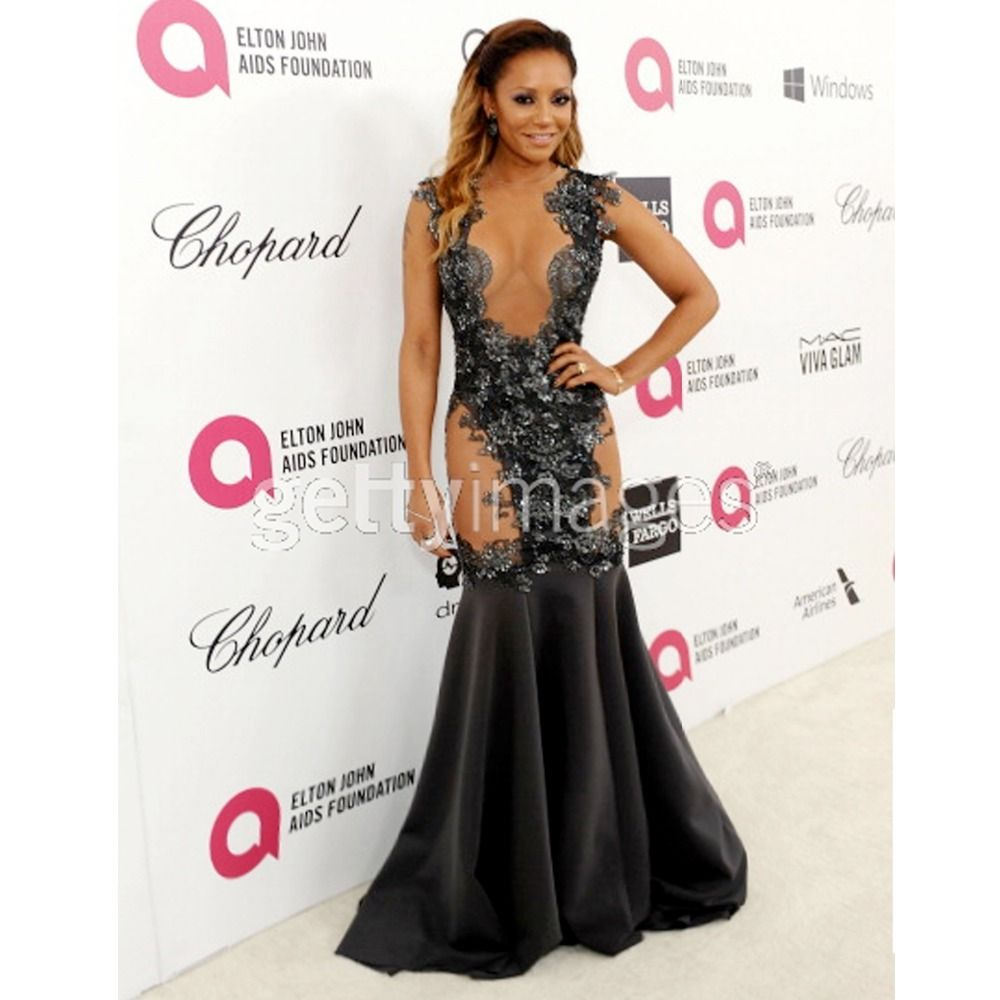 Click to buy ucuc sexy black girl prom dresses celebrity dress