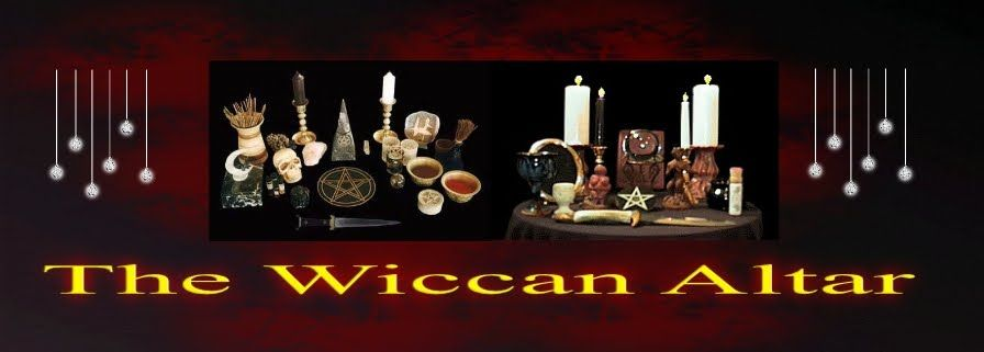 A Wiccan Altar