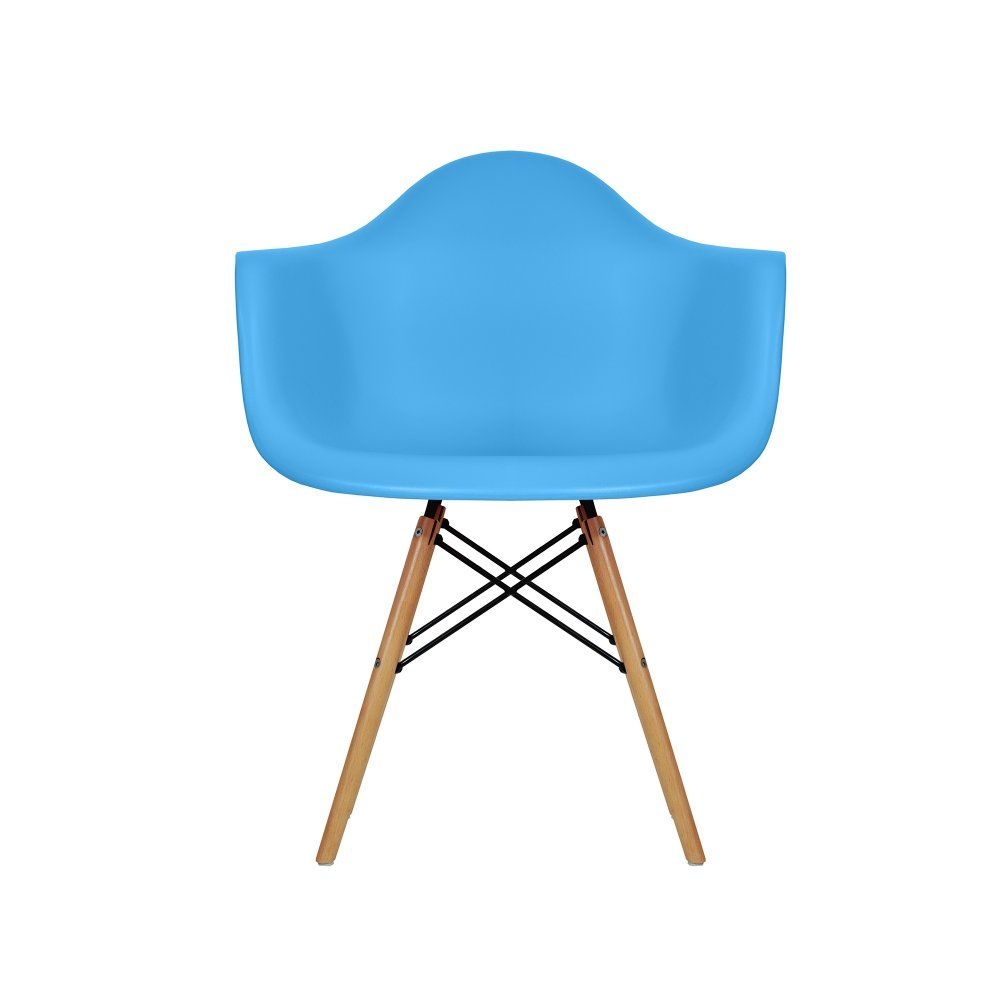 Charles Eames Charles Eames Style DAW Blue Dining Chair   Charles Eames  From MDM FURNITURE UK
