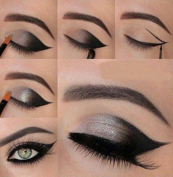 Grey Black Makeup Pinterest Gray Makeup And Black
