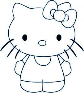 Apprendre a dessiner quelque chose de facile dessins et - Comment dessiner hello kitty ...