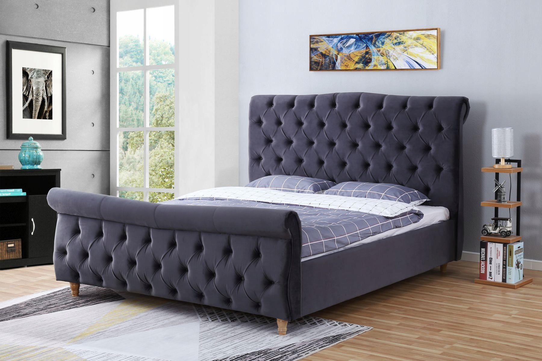 łóżko Tapicerowane Do Sypialni 1304 160x200 In 2019