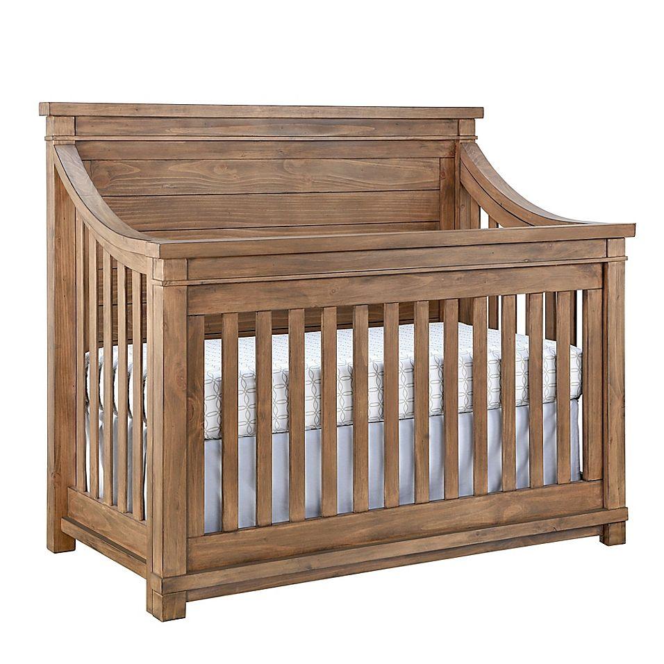 Baby Appleseed Rowan 4In1 Convertible Crib In Sandwash
