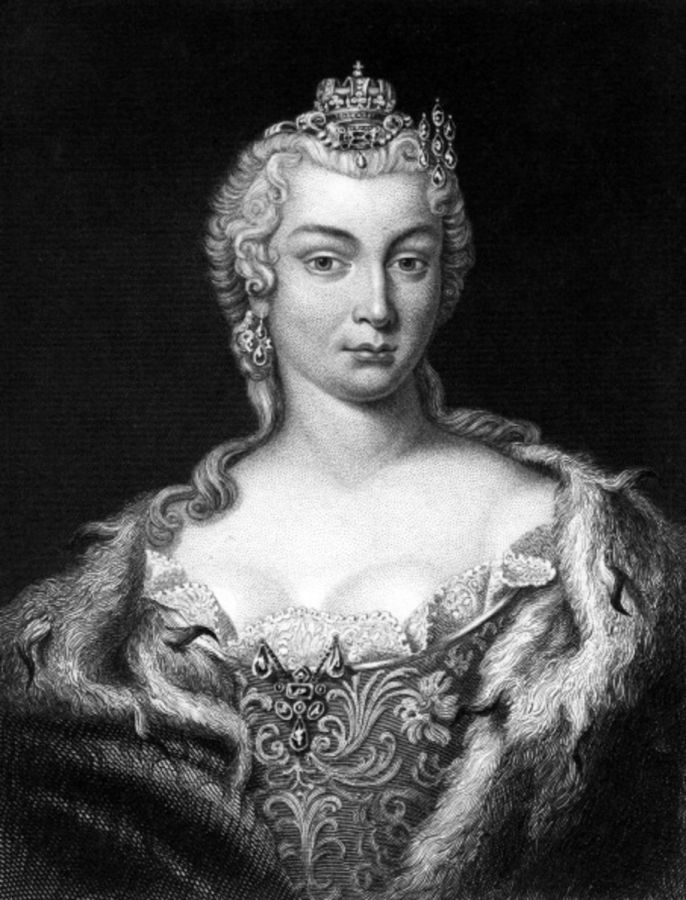 Maria Teresa I De Austria Emperatriz Del Sacro Imperio Germanico 3 Maria Theresa Giclee Print Austria