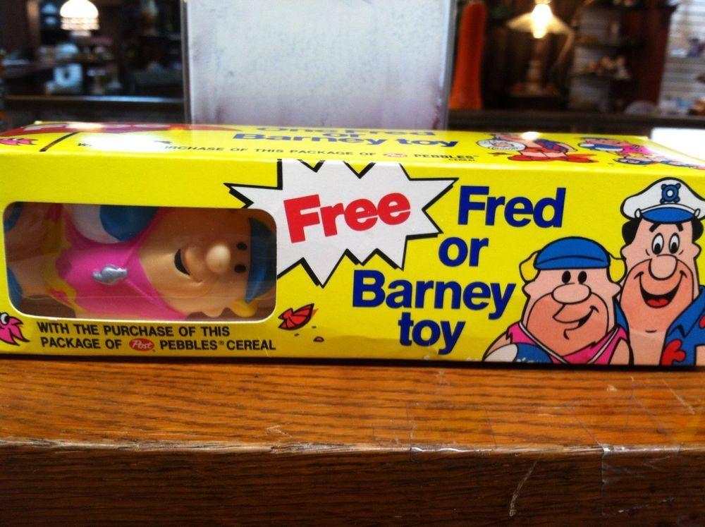 Vintage Barney Vinyl Toy