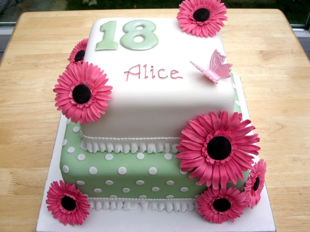 18th Birthday Cake Designs For Girls Birthday Party Pinterest