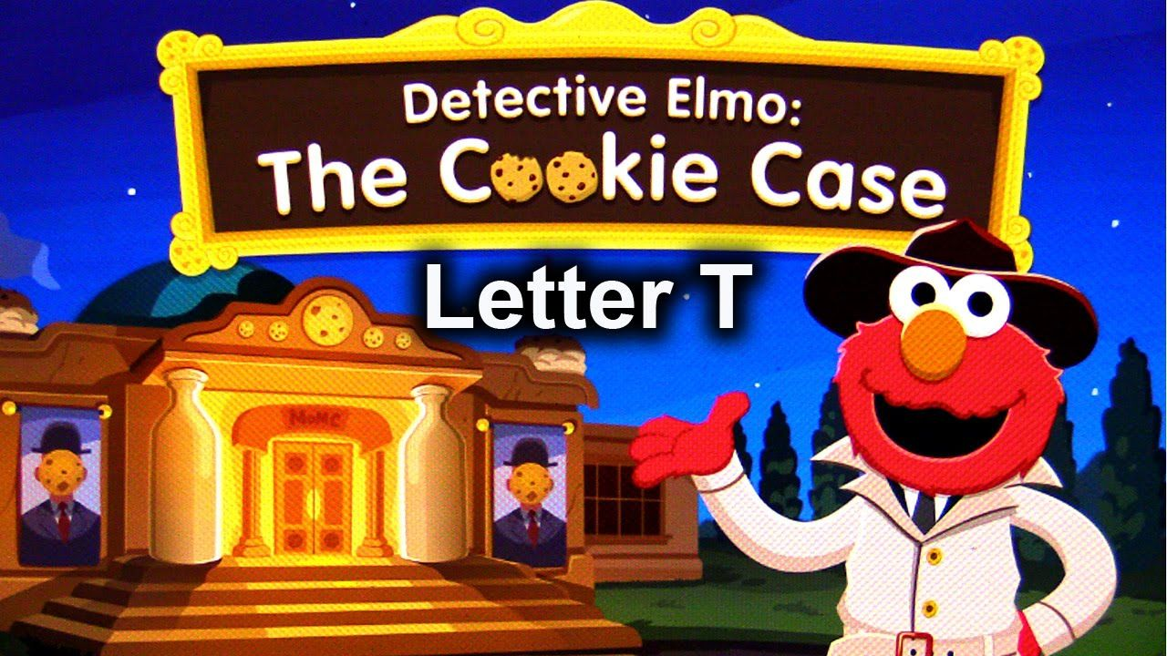 SESAME STREET LEARNING GAMES. DETECTIVE ELMO THE COOKIE