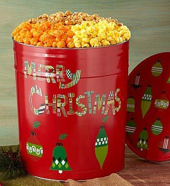 Merry Christmas 6-1/2 Gallon 3-Flavor Popcorn Tin – 6-1/2 Gallon 3-Flavor  http://www.fivedollarmarket.com/merry-christmas-6-12-gallon-3-flavor-popcorn-tin-6-12-gallon-3-flavor/