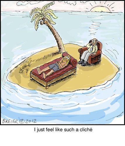 Deserted Island Beach: Desert Island, Deserts, Cartoon