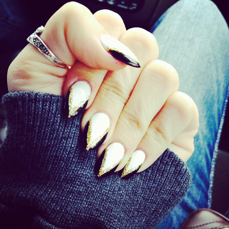 Badass #pointynails #nails