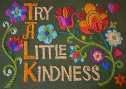 Try a little kindness