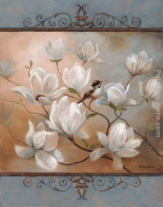 Vivian Flasch yağlı boya Pinterest Fleur, Fleurs blanches et
