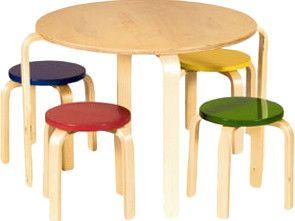 Primary Multi Table & Stool Set