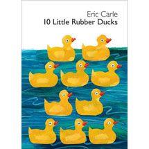 10 Little Rubber Ducks Board Book Walmart Com In 2020 Rubber Duck Eric Carle Ordinal Numbers