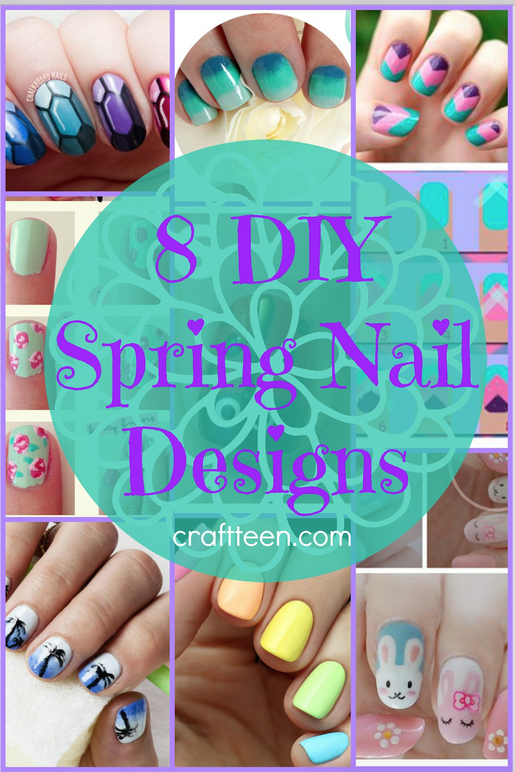 Really fun #DIY nail designs - we love nail art! | Crafts for Teens ...