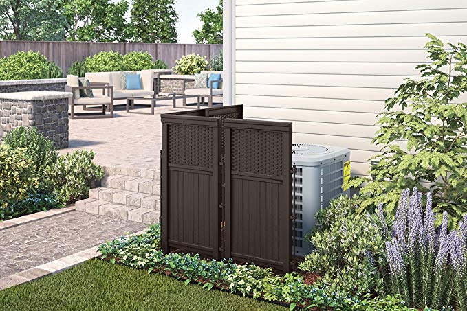 4 Ft H X 3 Ft W Huntersville Privacy Screen In 2020 Screen Enclosures Outdoor Screens Outdoor Trash Cans