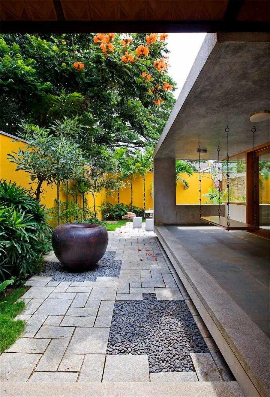 ♥ design Khosla Associates India Modern House Imposing Library ...