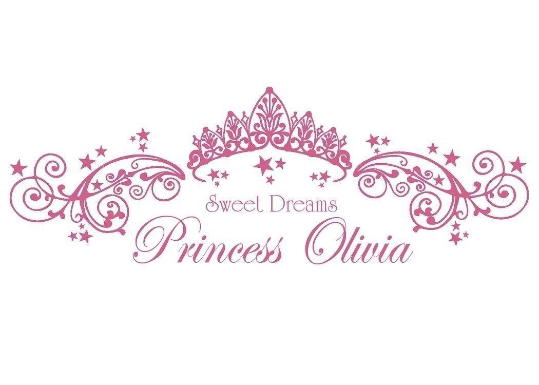 princess decals Google Search Childrens vinyl