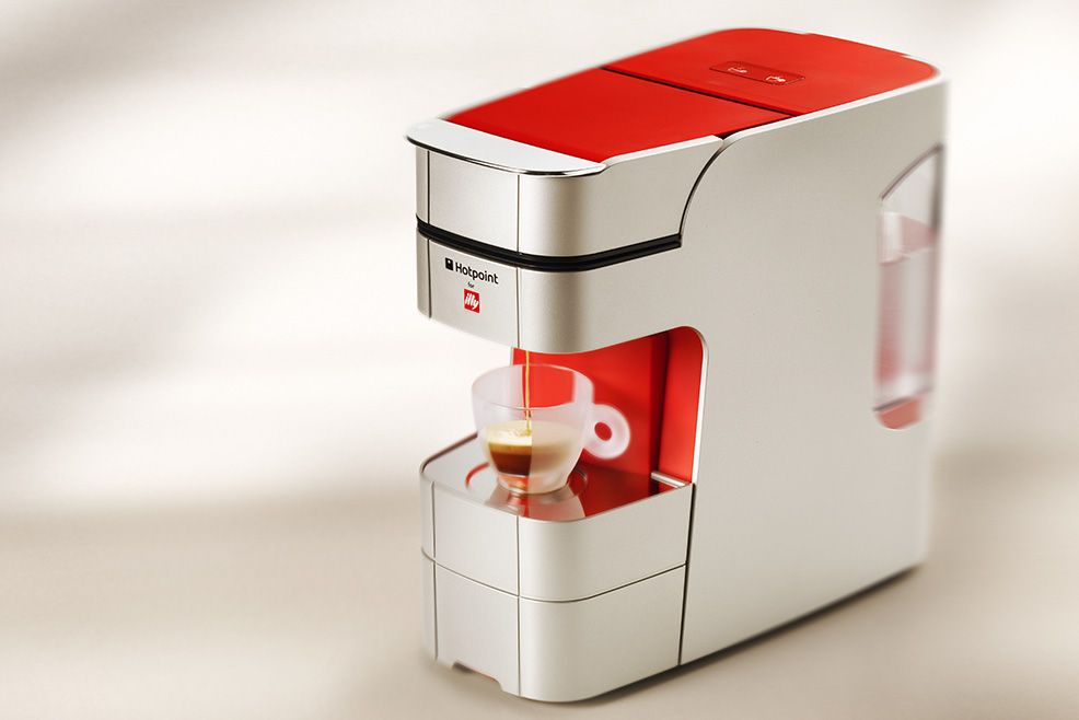 Hotpoint for illy - illy cofee | Coffee pots & gear | Pinterest