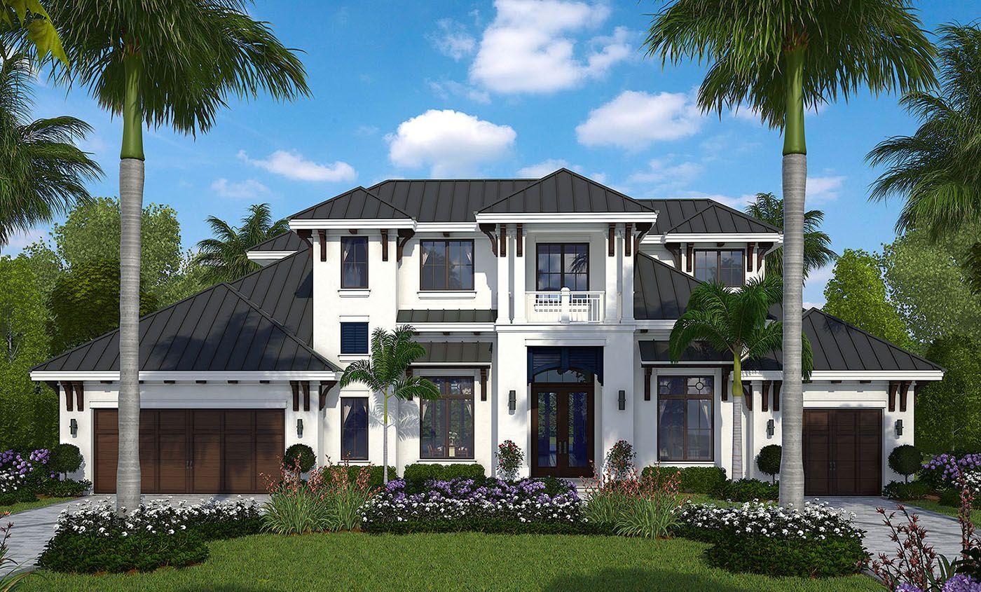 Florida House Plan Designed for Outdoor Living