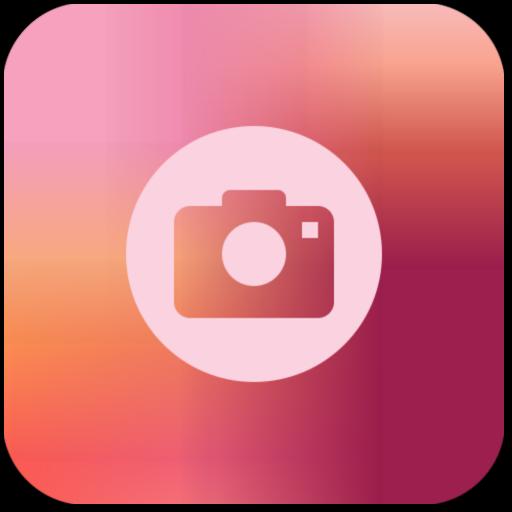 Peach Iphone Camera App Icon App Icon Simple Pictures Icon Design