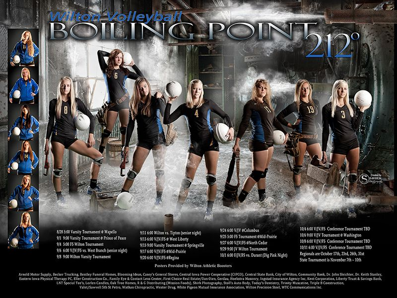boiling point composite sports poster a sports template With sports team photography templates