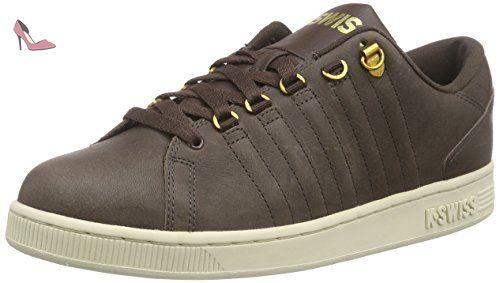 K-SWISS Herren Sneaker HOF IV P MID VNZ - Marron - Braun  (Cowboy/Espresso/Antique White), 42.5 EU - Chaussures k swiss  (*Partner-Link) | Pinterest
