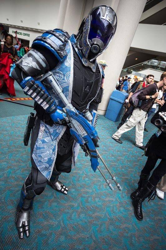 "Tallus'Vakarian Vas Normandy - Mass Effect Cosplay by Chris ""Ammnra"" Myles"