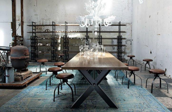 Estilo-industrial---Decoracion-Industrial-Los-Arys-2 Interiors - industrial chic wohnzimmer