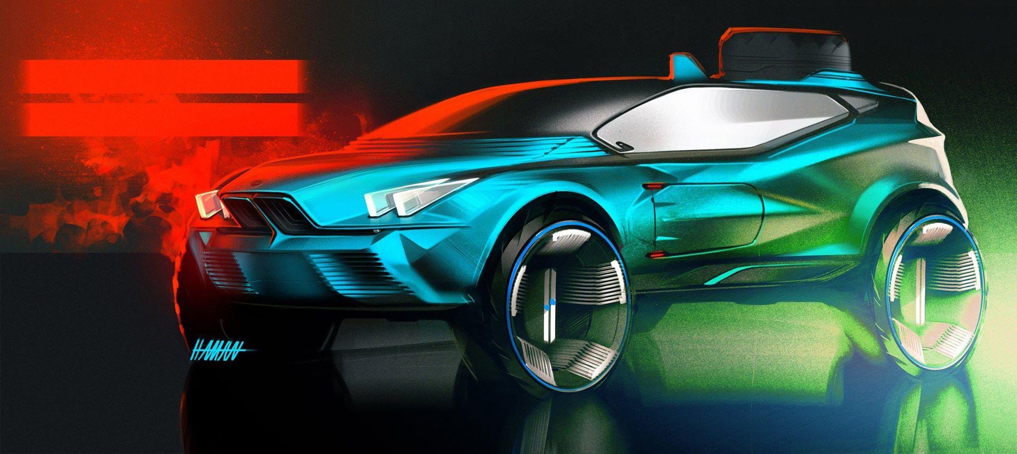 Haman Ezzati Norway Bmw Concept Car Concept Cars Bmw Concept
