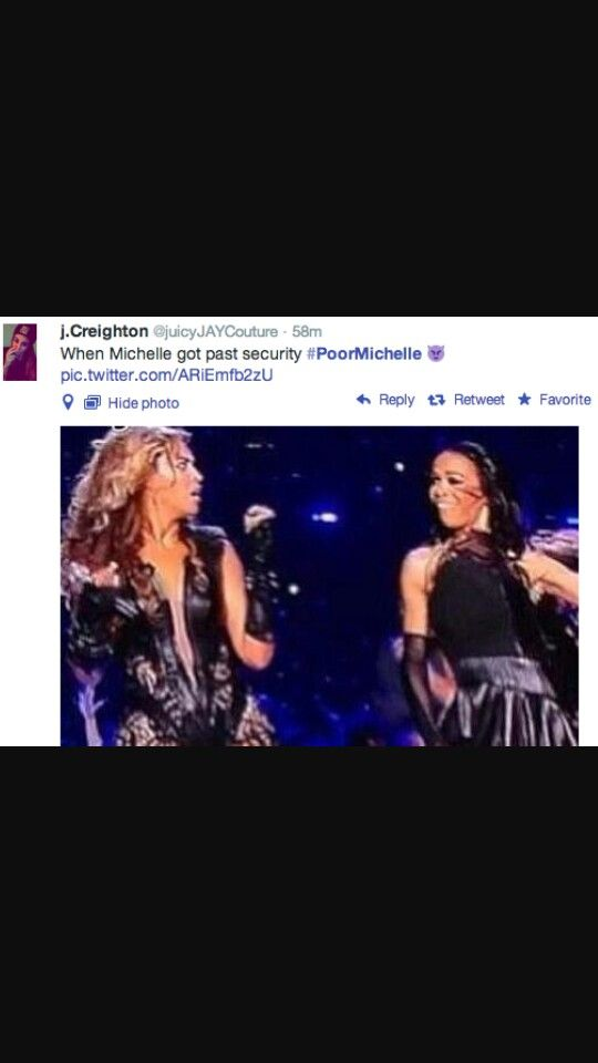 #poormichelle