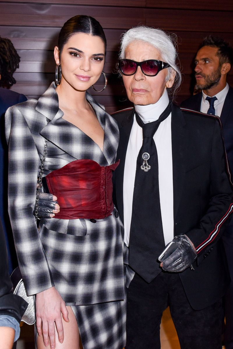Kendall Jenner and Karl Lagerfeld Partied This Week
