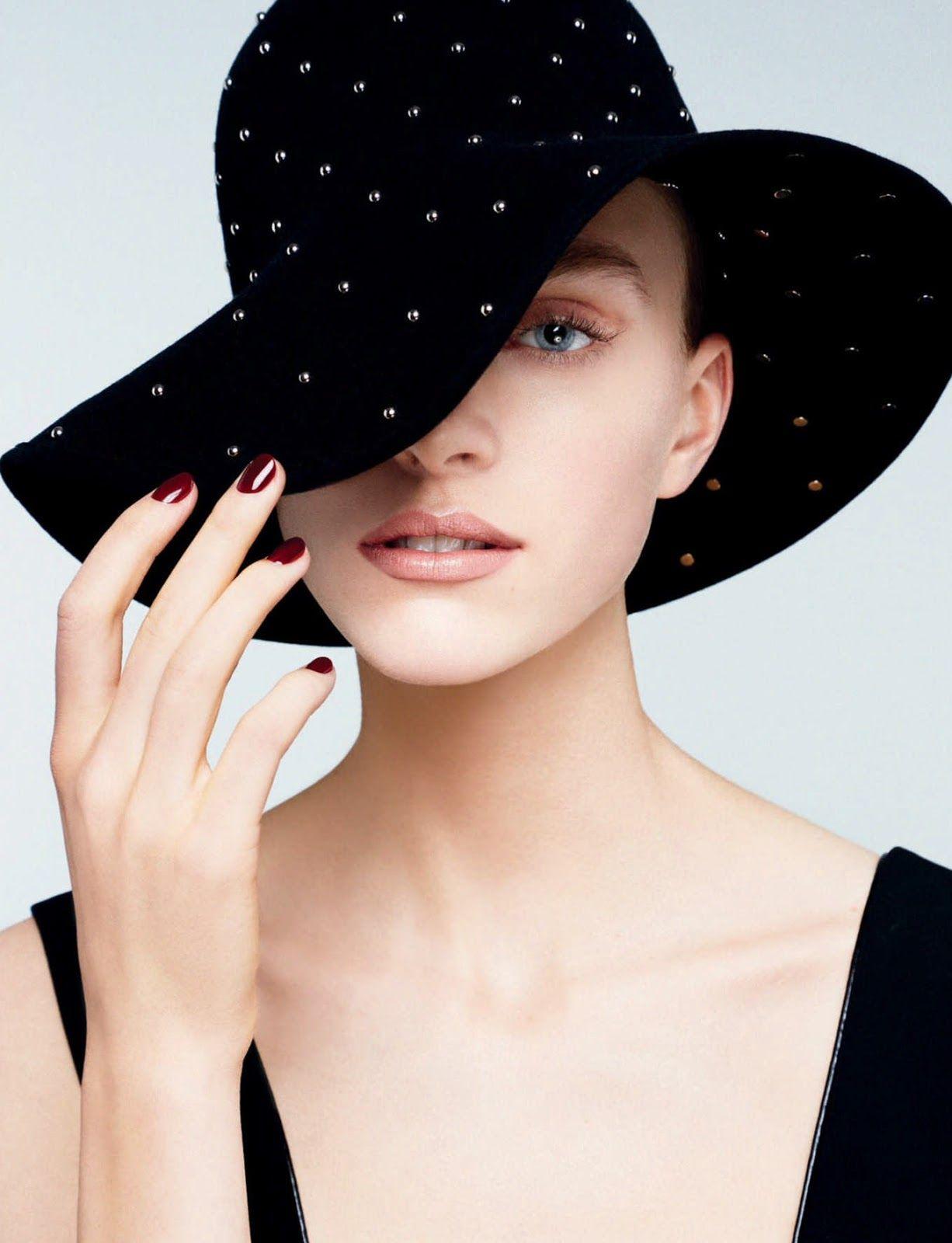 Face Forward: Hedvig Palm by Felix Valiente for Harper's Bazaar Singapore June 2017 #hat