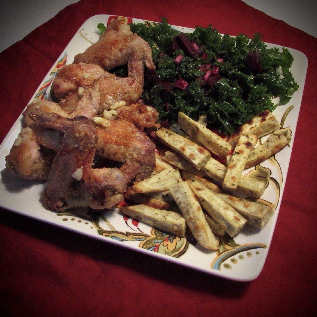 "Paleo ""Ghee These Wings Are Tasty"" chicken wings recipe by Tara Perillo|Paleo Cajun Lady"
