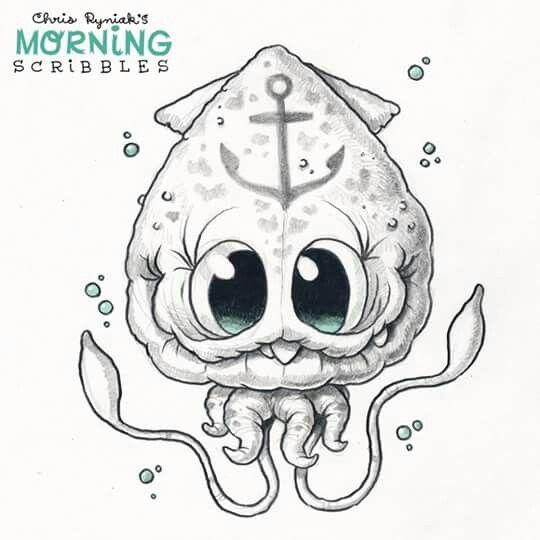 Chris Ryniak Is Creating Friendly Monster Drawings