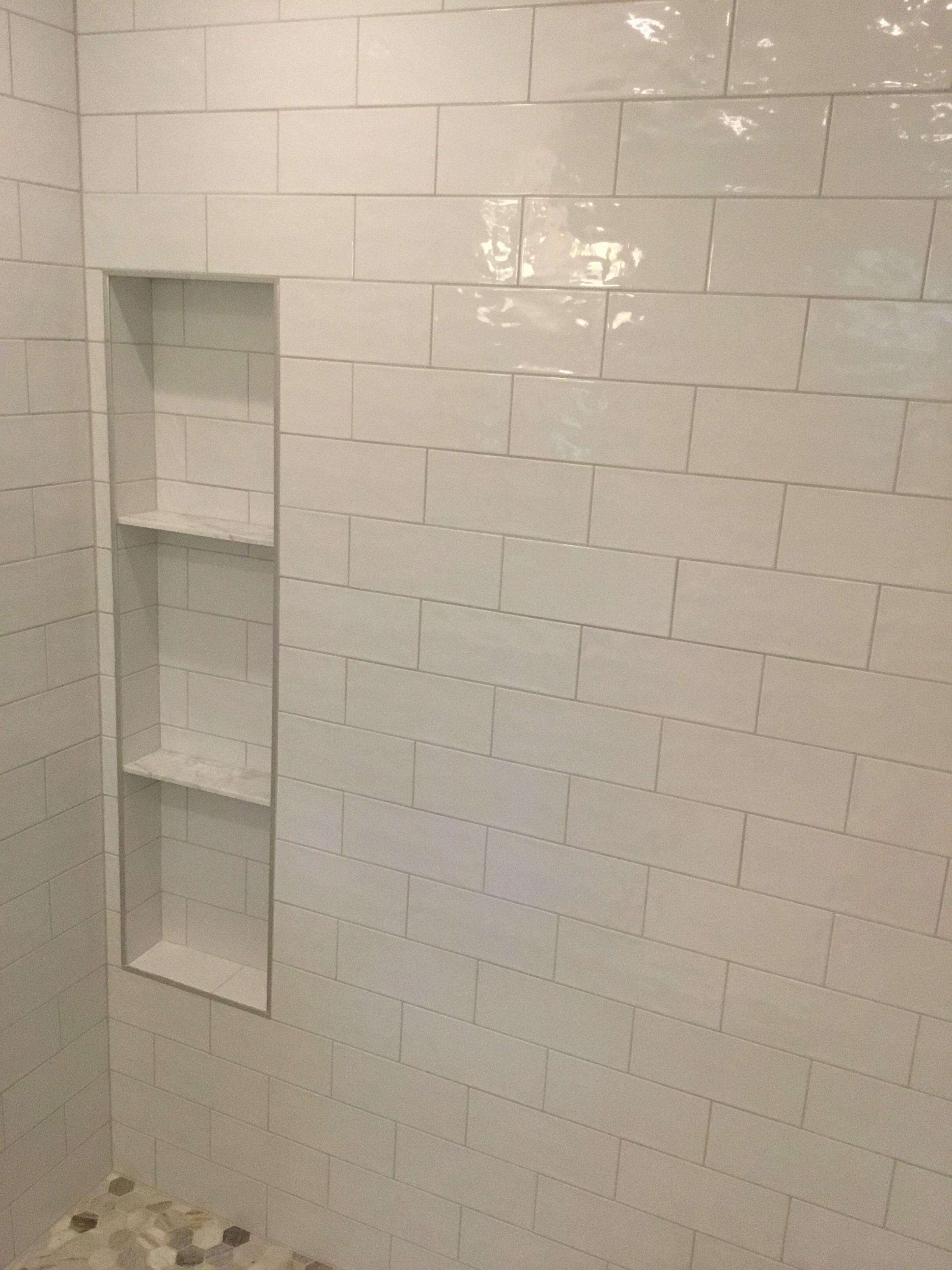 shower niche trim home depot