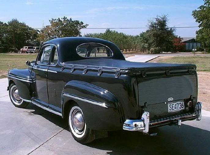 '48 Mercury UTE