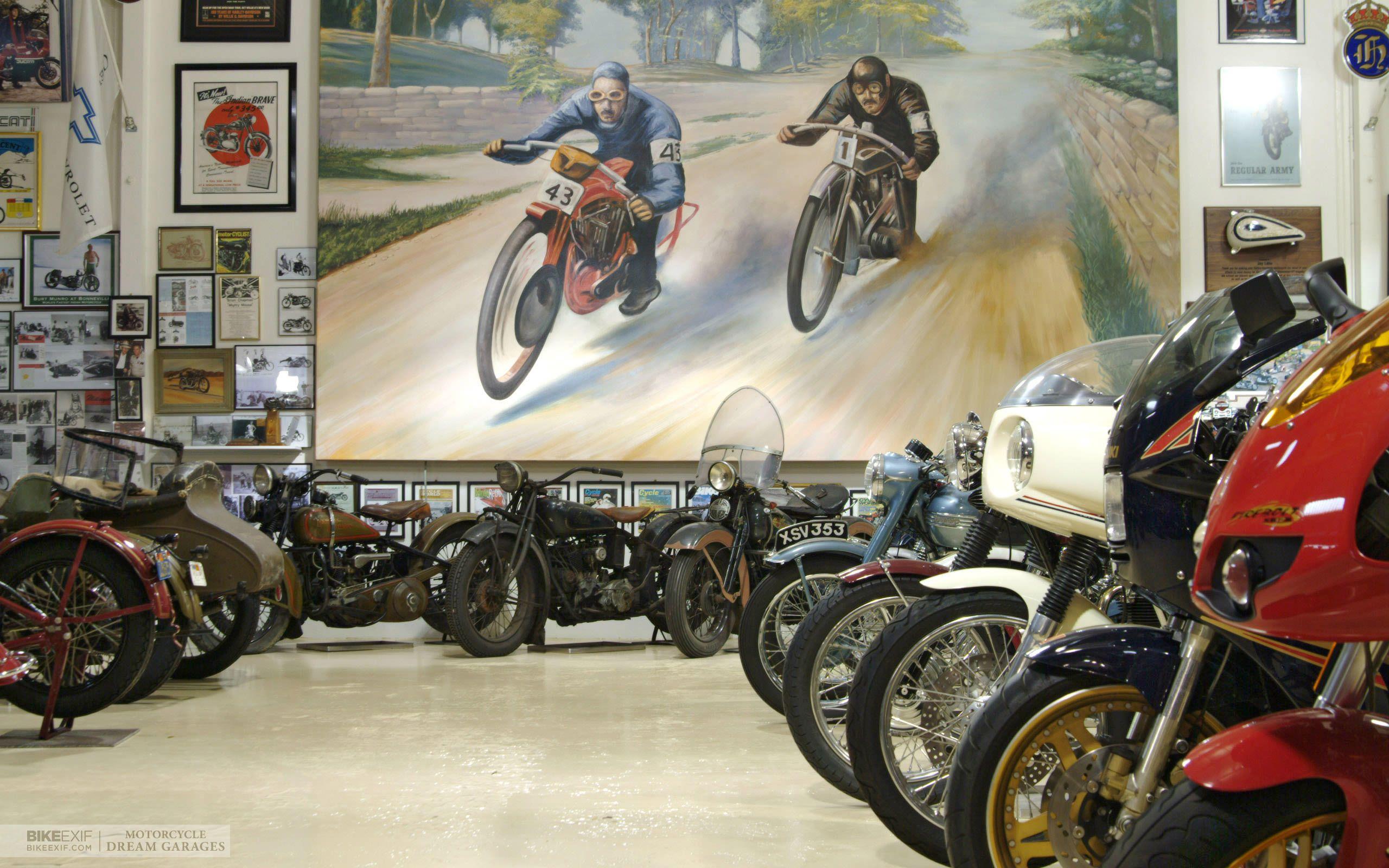 Motorcycle dream garages dream garage garage bike
