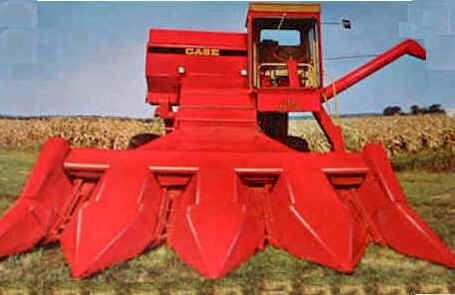 1968 Case 1060 Combine New Holland Combine Harvester