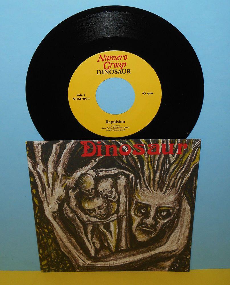 Dinosaur Jr Repulsion Bulbs Of Passion 7 Vinyl Record J Mascis Alternativeindie Dinosaur Jr J Mascis Vinyl Records