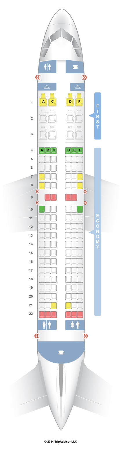 Seatguru Seat Map Us Airways Airbus A319 319 Seatguru Southwest Airlines Airline Seats
