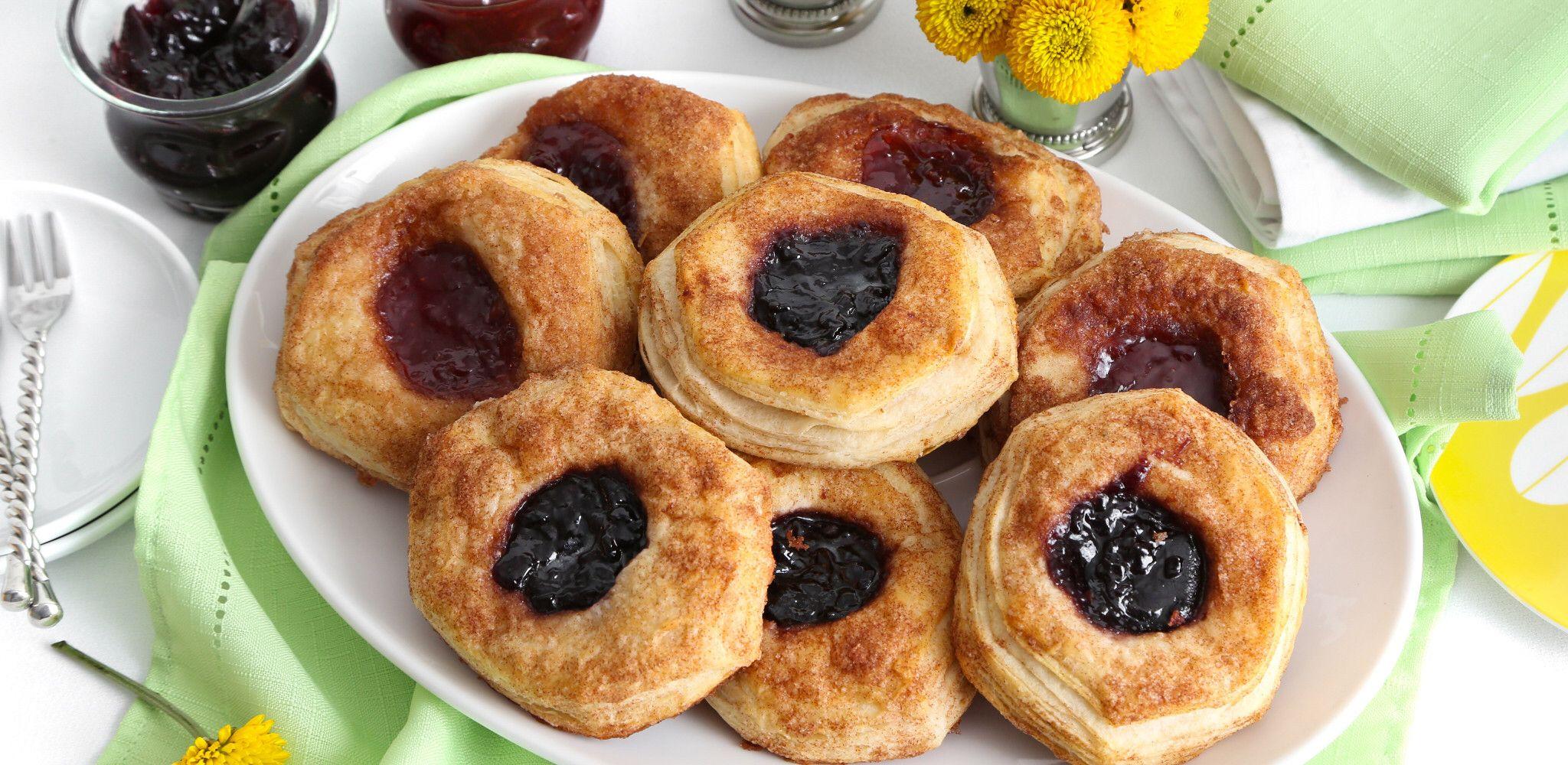 Jam Filled Biscuits Recipe Food Network Recipes Biscuit Recipe Fake Bake
