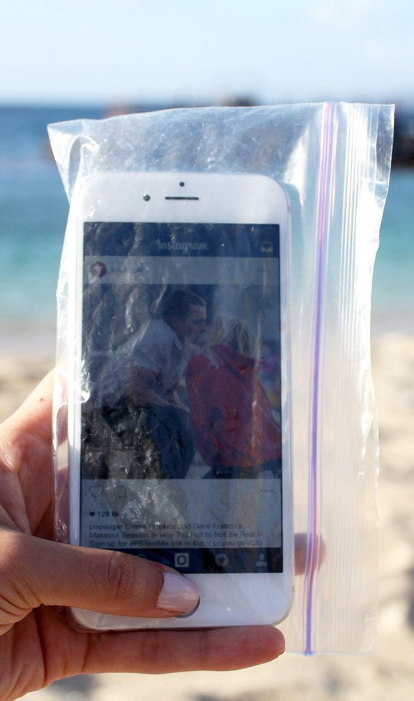 official photos ab489 510be The 1 SUPER Simple Hack to Keep Your Phone Safe at the Beach | Phone ...
